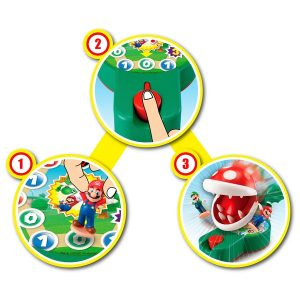 juego de mesa planta piraña
