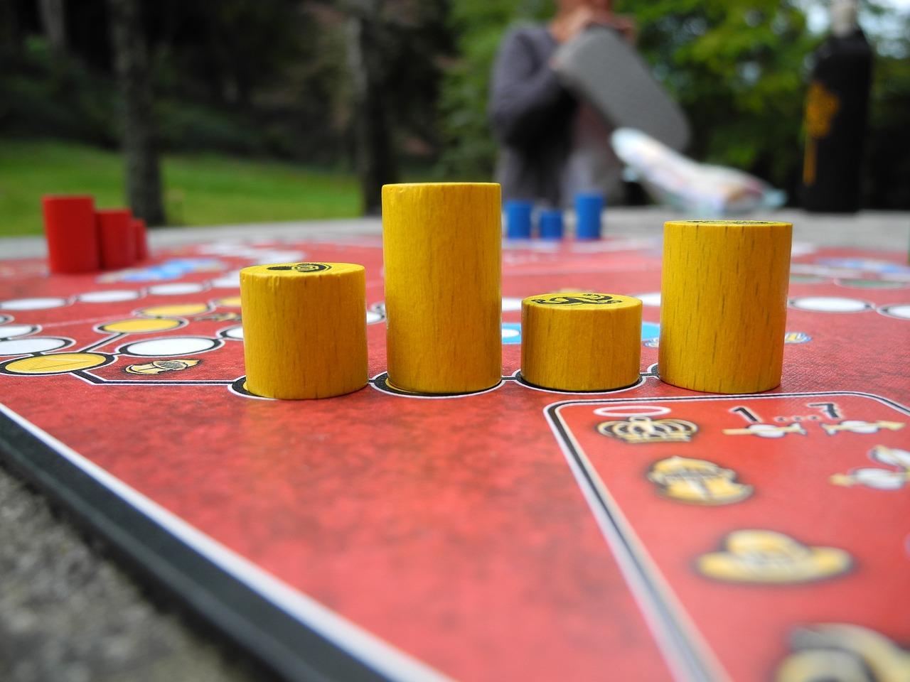 Juegos de mesa en familia